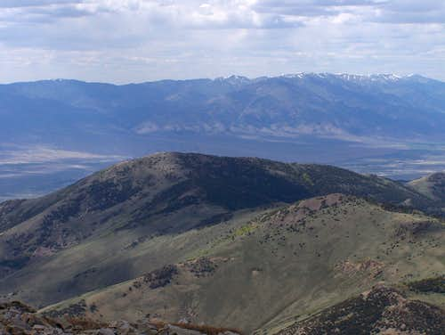 Windy Peak and the Schell Creek Range