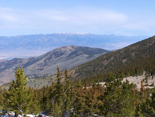 Windy Peak and Creek Range