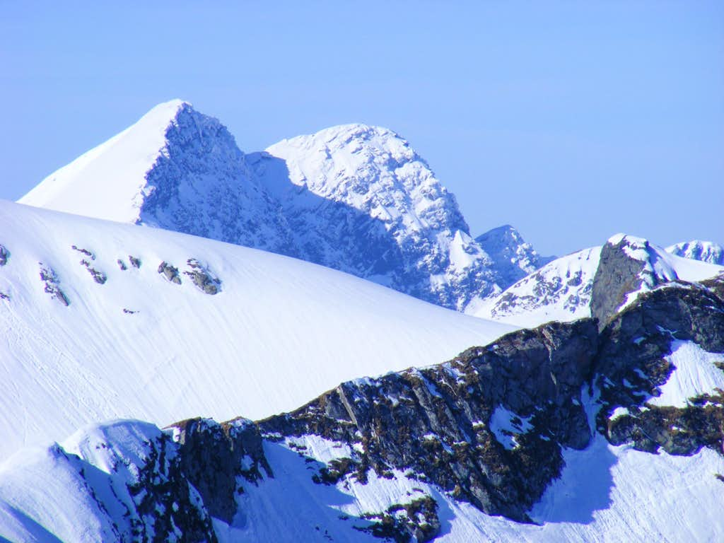 Lespezi, Caltun peak, Fagaras mt. Romania