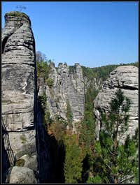 Bastei rock towers