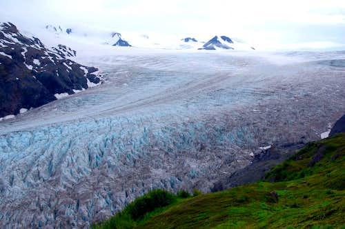 Exit Glacier exits Harding Ice Field