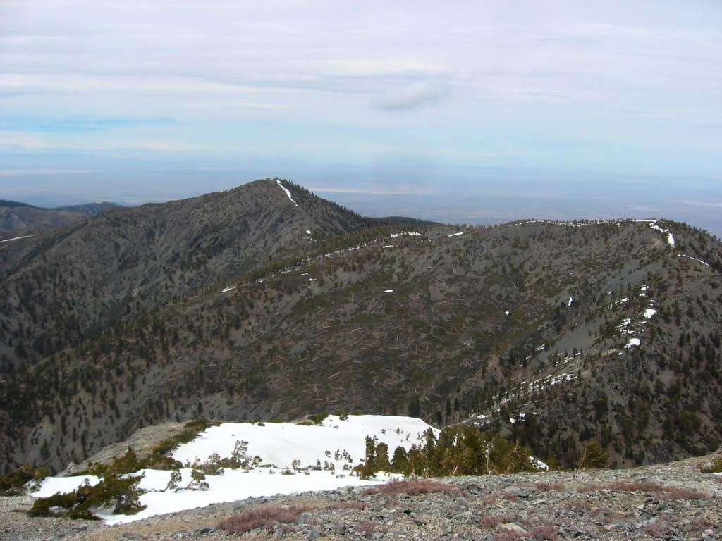 Pine Mountain and Dawson Peak