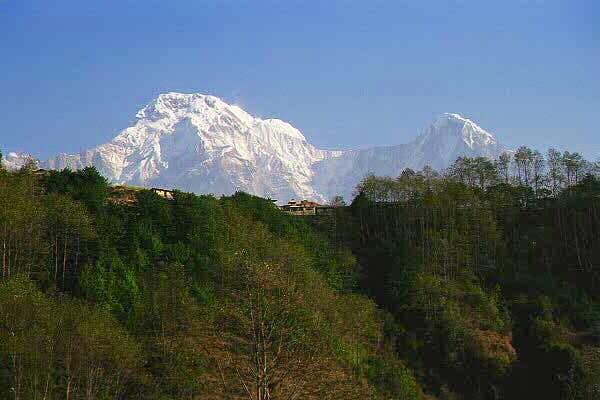 Hillside village of Ghandruk...