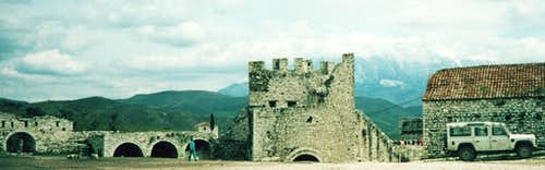 Berat Castle and Tommorit Range