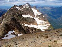 A peak from Snowshoe Peaks summit