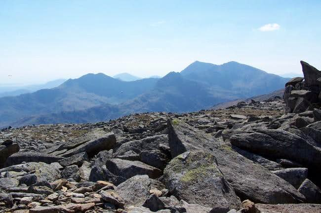Snowdon from Castell Y...