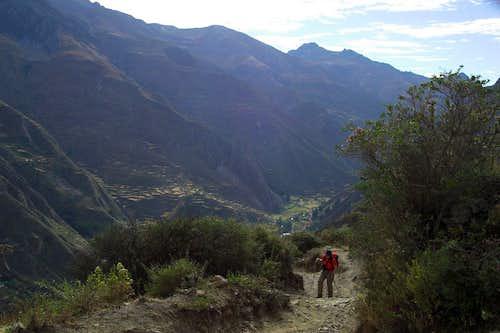 Leaving Llamac