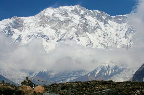 Annapurna from ABC south