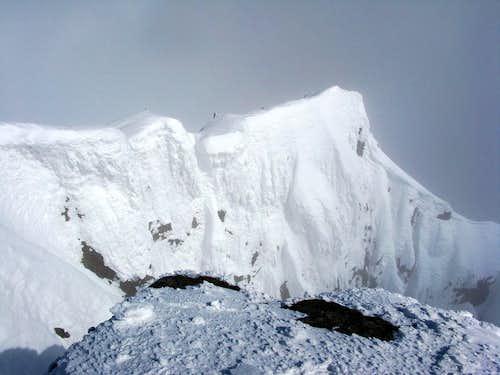 Summit of Piz Glüschaint 3594m
