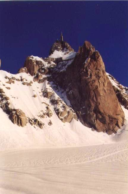 The Aigulle du Midi in a...
