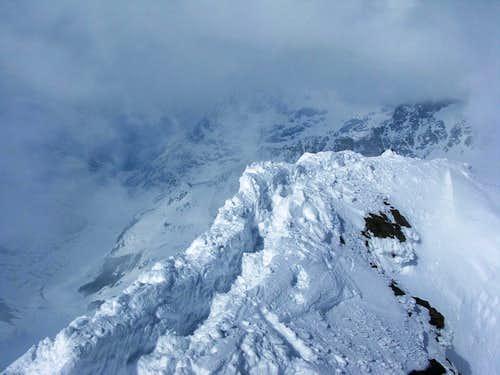 north ridge of Piz Glüschaint 3594m
