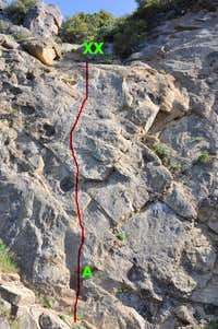 Once Upon a Climb in The West, 5.9