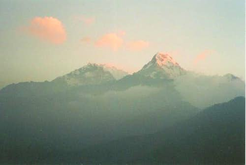 Twilight on Annapurna from...
