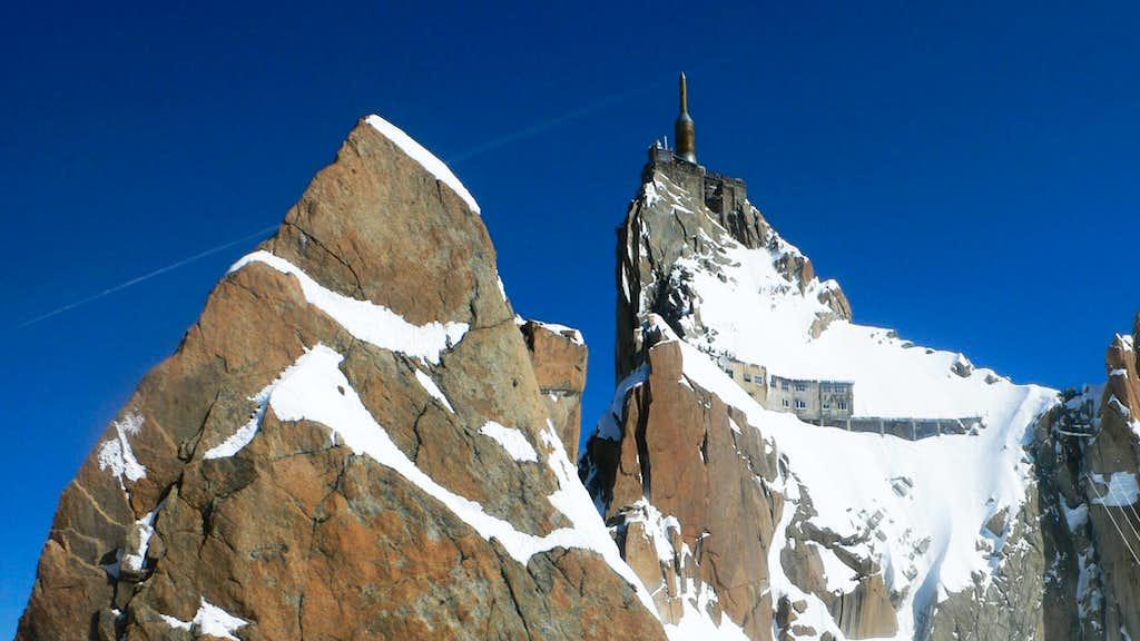 The Aiguille du Midi