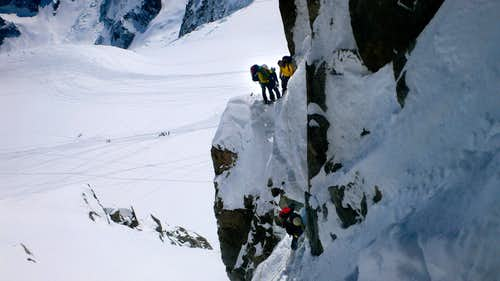 Steep traverses