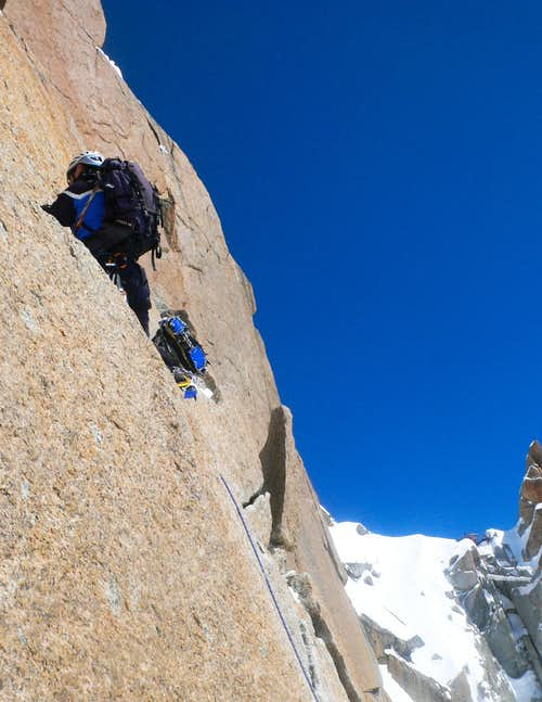 The crux rock moves