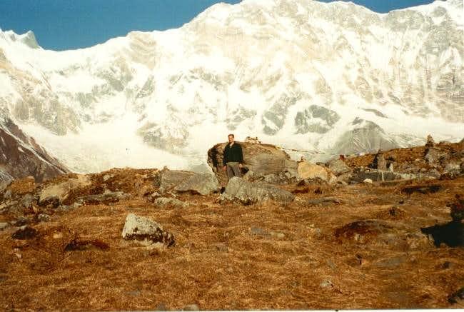 Annapurna I from the...