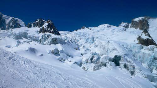 Jumbled glacier