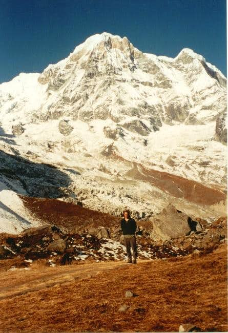 Annapurna South from the...