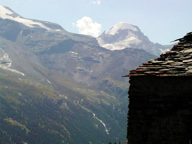 Ciarforon seen from Alpe Tsaplana