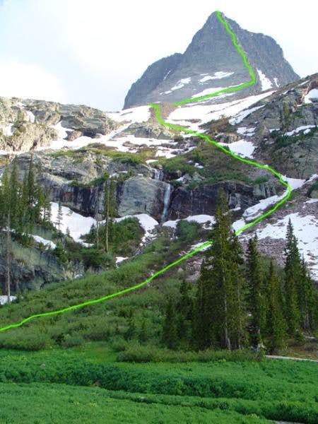 Climbing Wham Ridge