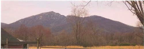 View of the Old Rag mountain...