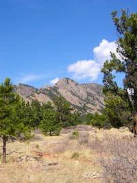 South Boulder Peak (far left,...