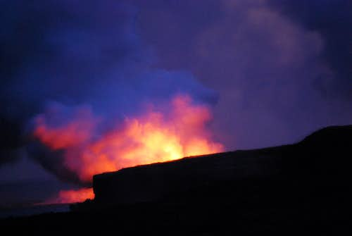 Sunset Lava Steam