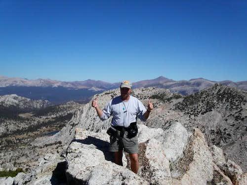 Bill Gentry on summit of...