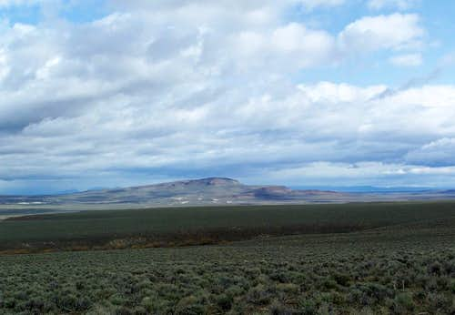 Red Mountain of Willow Creek Basin