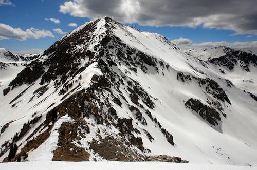 UN 12,819 (Bighorn Peak) from UN 12,728