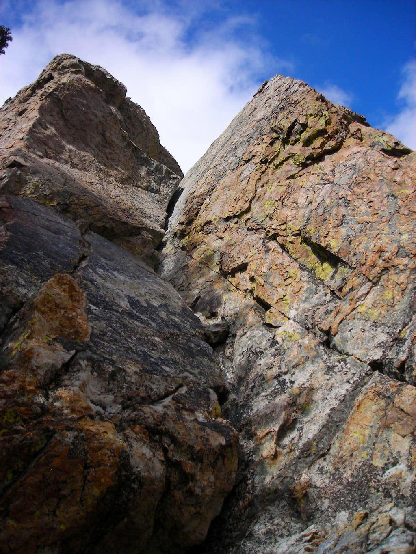 Castle Rock, summit route