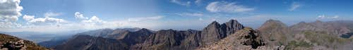 360 Degree Summit Panorama