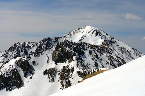 Lake Fork Peak from Kachina Peak