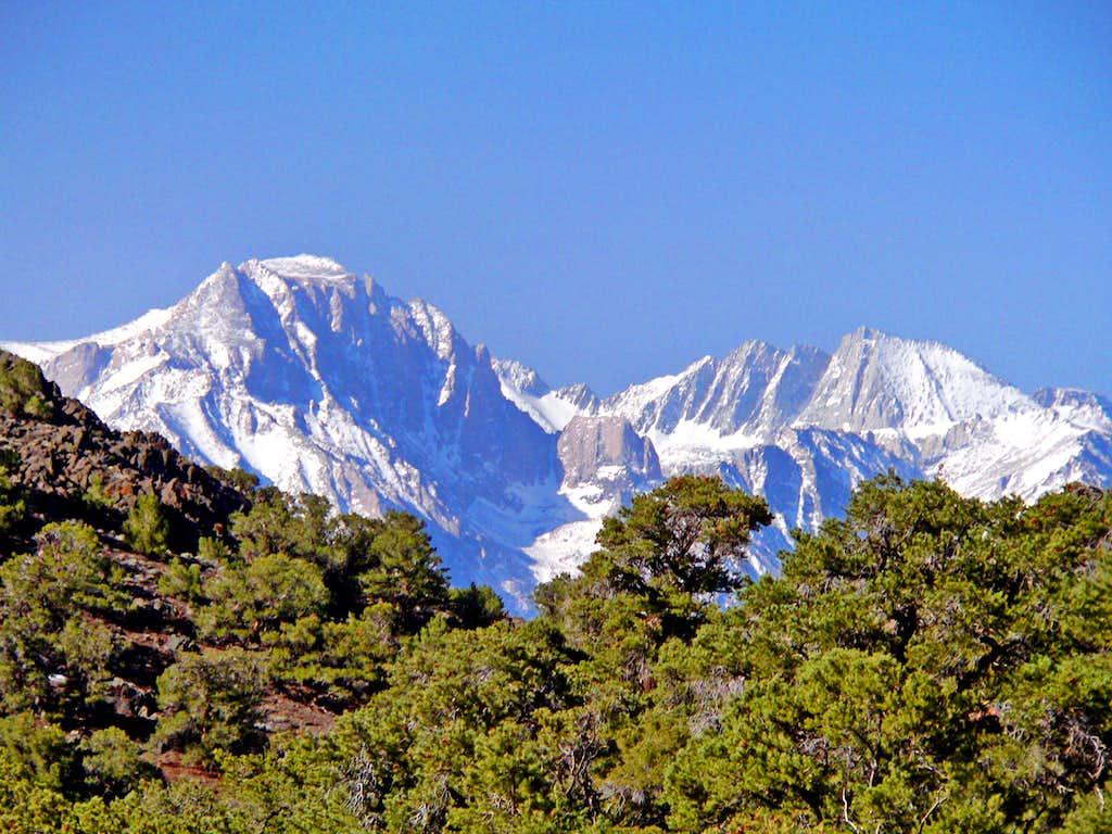 Mt. Williamson and Mt. Tyndall