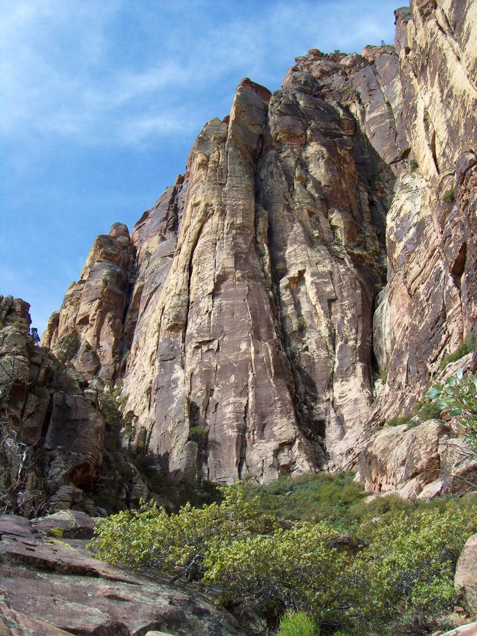 Spare Rib, 5.8, 4 Pitches