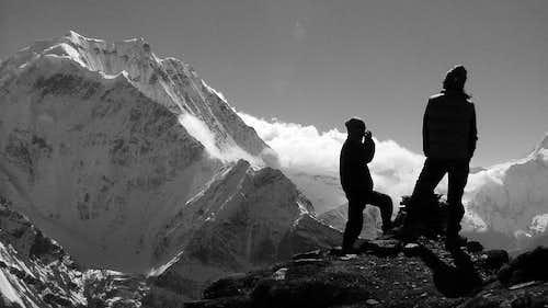 Samdo Ri Pang Poche b&w (6335m)  ...