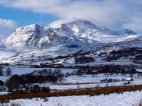 Cadair Idris in winter