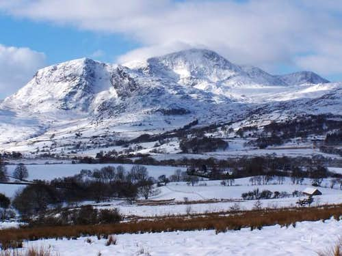 Cadair Idris in winter
