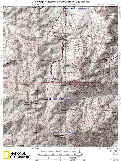 Mt. Perkins Map #2