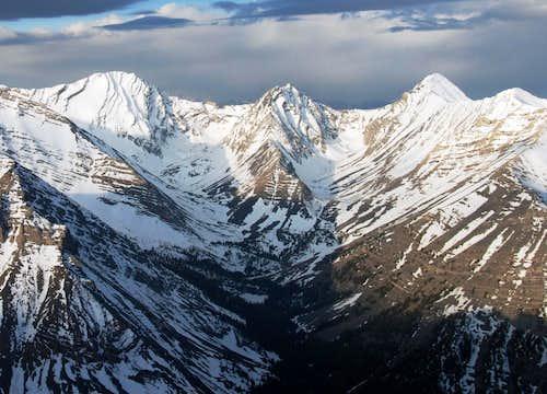 Bad Rock Peak: Three Sisters