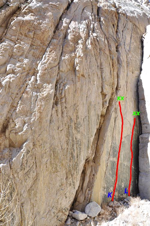 Routes of the right side, Gecko Wall
