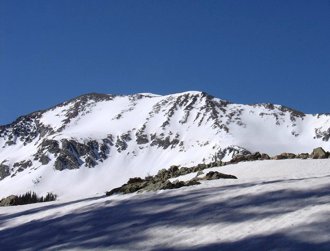 Sin Nombre, a locals\' backcountry skiing favorite