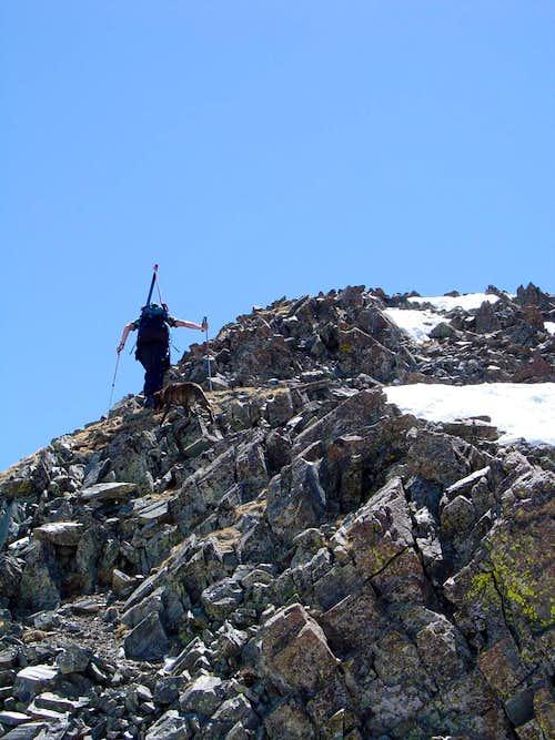 Miles hiking
