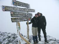 Summit Kili 24/10/08