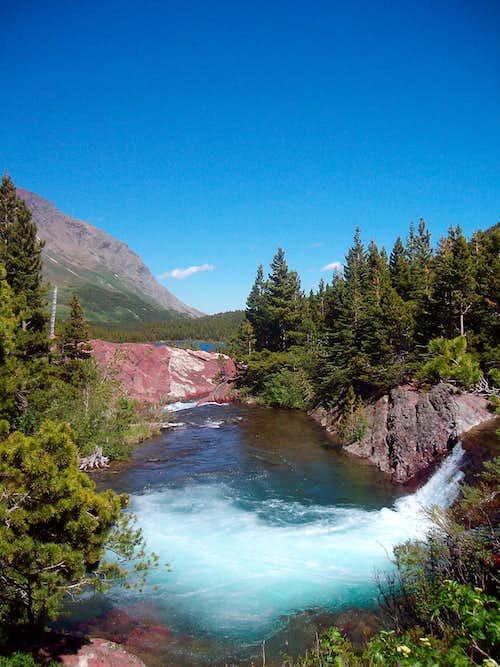 Red Rock Lake at Many Glacier