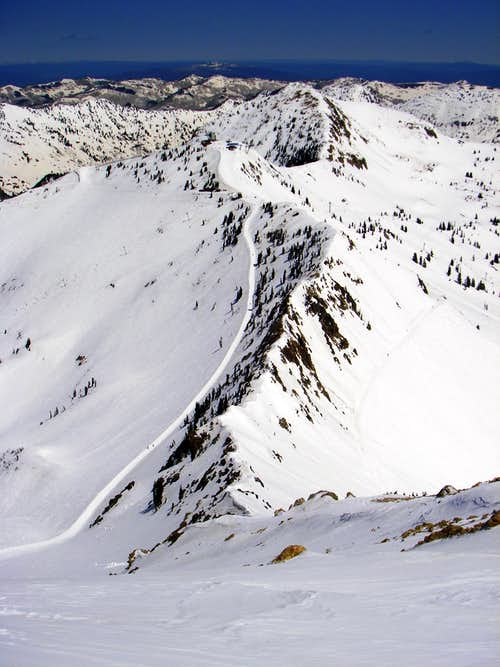 A section of the Bullion Divide