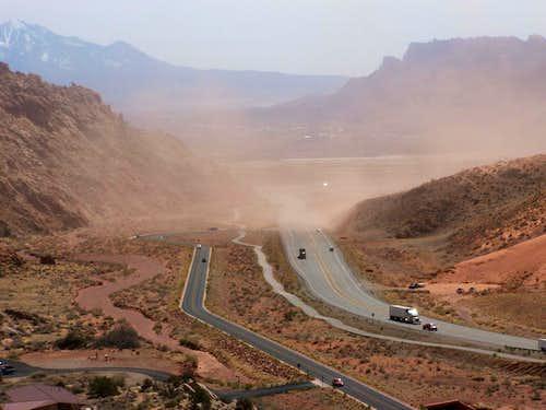 Moab Sandstorm