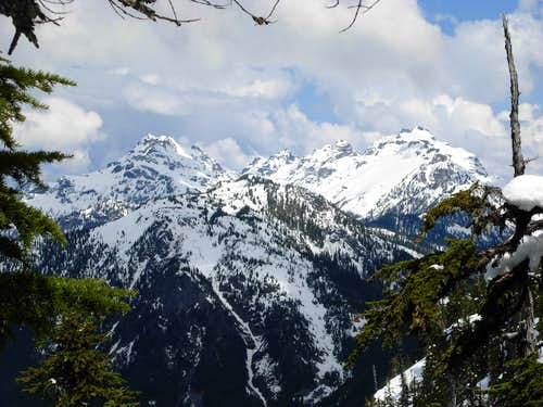 Monte Cristo Peaks