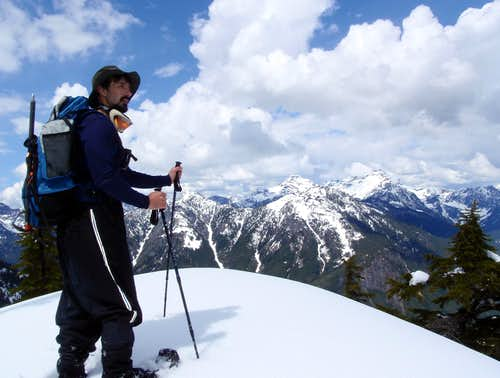 EastKing on the north ridge